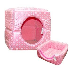 쏘아베 2way 큐브방석 핑크 대형