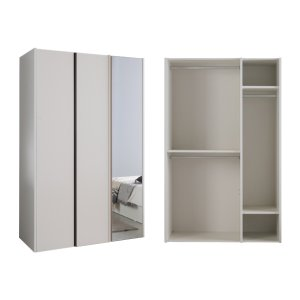토피 1200 옷장 일반형(거울도어) 2종택1