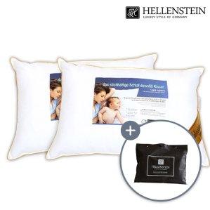 [헬렌스타인] 부모님 건강베개세트(베개2개+선물가방)