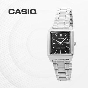 카시오 CASIO LTP-V007D-1E 메탈밴드 여성 손목시계