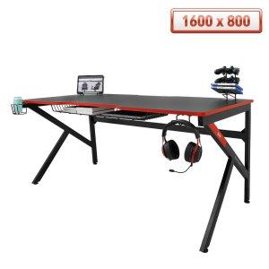 ★오직인팍특가 에이픽스 게이밍 1인용 컴퓨터 책상 GD001 1600L