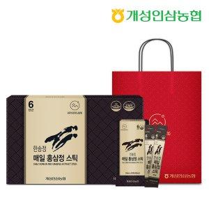 개성인삼농협 한송정 매일 홍삼정스틱 60포 1박스