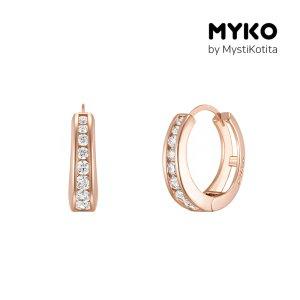 [미코주얼리] 14k 핀 하우트 귀걸이 MK3EC21