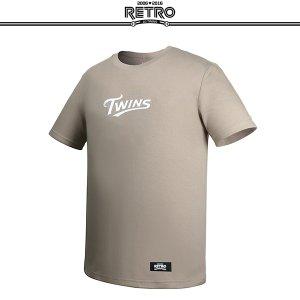 [티켓MD샵][LG트윈스] 레트로 사계절 티셔츠 (베이지)