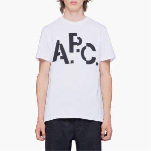 [아페쎄] 19FW MEN 티셔츠 CODCS H26829 WHITE