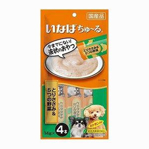 이나바 강아지 츄르 닭가슴살&5가지야채(DS-119) 14gx4개입