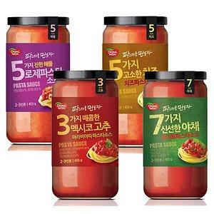 동원 파스타 소스 4병/토마토+로제+치즈+아라비아따