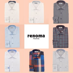 [백화점SAY][레노마셔츠]남성 긴소매 셔츠 7종택1 선물포장가능