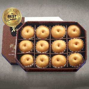 신선한아침 팔각 명품 배 선물세트 7.5kg내외 (배12)