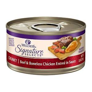 웰니스 코어 시그니쳐 셀렉트 청키 닭고기와 소고기 79g
