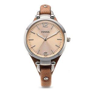 FOSSIL 파슬 ES2830 Georgia 여성가죽 32mm