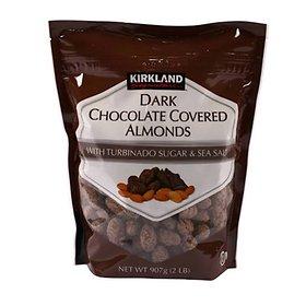 Kirkland dark chocolate almond / Covered Almonds 907g