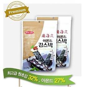 청해우 아몬드 김스넥 30g/아몬드/김/스넥/술안주