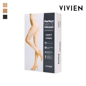 VIVIEN 5개세트 1단계 종아리 압박스타킹 PH2421