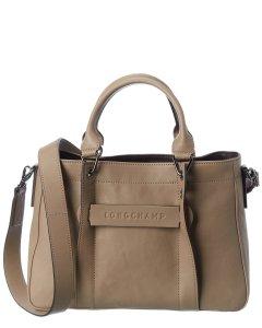 롱샴 3D 스몰 가죽 토트백 Longchamp 3D Small Leather Tote