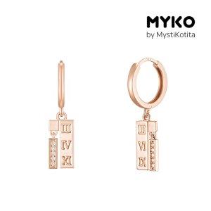 [미코주얼리] 14k 핀 머닝큐 귀걸이 MK3EC20