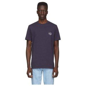 [아페쎄] 20SS 남성 RAYMOND 티셔츠 DARK NAVY
