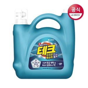 테크 특유취 제거 대용량 액체세제 겸용 용기 5.5L
