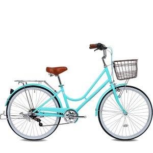 2020 K2BIKE 여성용 클래식자전거 스와니 24형 7단