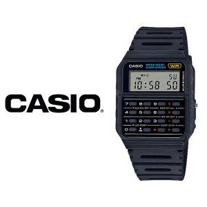 카시오 CASIO CA-53W-1Z 전자 우레탄 계산기 손목시계
