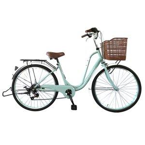 프레쉬 24/26 여성용자전거 7단 알루미늄핸들
