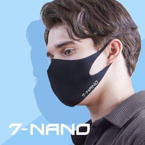 순수예감 7-나노 반영구 항균 연예인 패션마스크 1+1