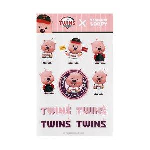 [티켓MD샵][LG트윈스] (4월 30일 출고) 잔망루피 에디션 스티커