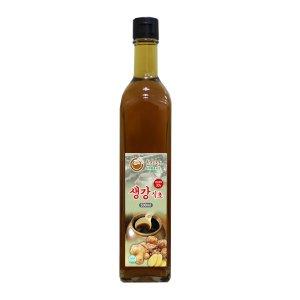 생강식초 500ml 천연발효식초 천연식초 흑초 농장직영