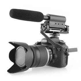 TAKSTAR SGC-598 microphone interview Nikon / Canon cameras