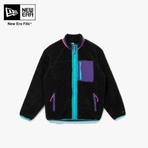 [현대백화점 충청점] 뉴에라 NEWERA 12544691 뉴 보아 플리스 재킷 블랙