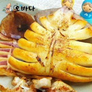 [수산쿠폰40%] 오바다 반건조오징어 5미 왕특700g내외 마요,버터증정