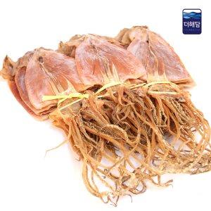 [수산쿠폰20%] 더해담 마른오징어 M 1.5kg 한축