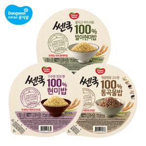 쎈쿡 100% 발아현미밥 195g 24개/통곡물밥
