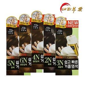 미쟝센 쉽고빠른 거품염색 5종 택1 / 새치커버 염색약