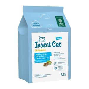 [사은품증정]  인섹트캣 글루텐프리 밀웜 사료 1.2kg (유통기한 2021-05-14)