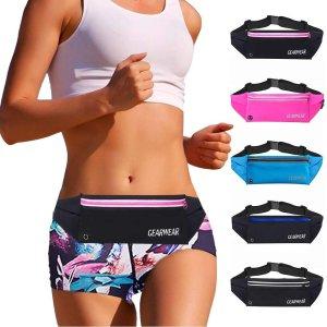 Running Waist Belt(pink zipper) 벨트식 운동용 백