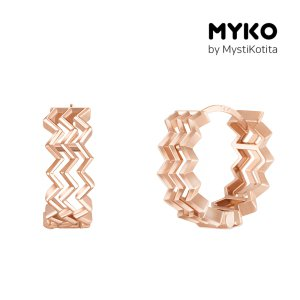 [미코주얼리] 14k 핀 에본 귀걸이 MK3EC15