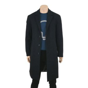 [갤러리아]어스앤뎀 3버튼 스탠다드 핏 본딩 남성 코트 TAHD500