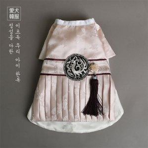 [수공예] 보검 세자 한복 (상아색)