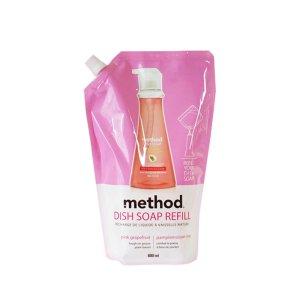 메소드 친환경주방세제 리필 핑크그레이프 800ml