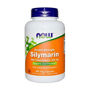 Now Foods Silymarin Milk Thistle Extract 300mg 200 tablet