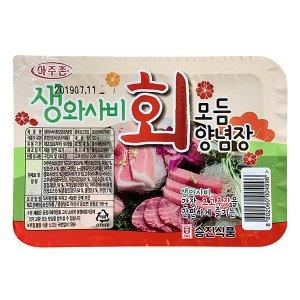초장 승진식품 생와사비 회모듬양념장 120g 35입