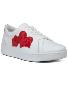 Fitflop Rally Valentine Leather & Suede Sneaker