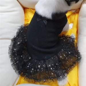 반짝반짝 화사한 xs강아지옷 강아지옷 드레스 원피스