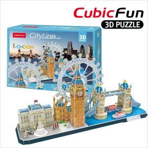 3D 입체퍼즐 큐빅펀 런던 도시 대형 종이집 장난감