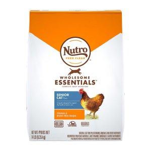 [유통기한 2020-12-27] 뉴트로 인도어 시니어 캣 닭고기&현미 6.35kg