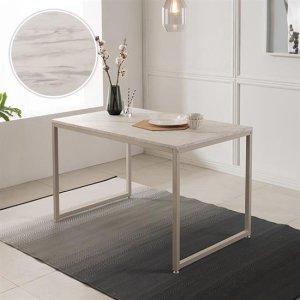 베이킹 4인 화이트 마블 식탁