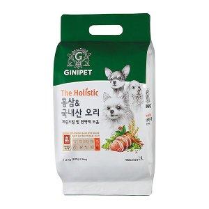 [APP추가할인] 지니펫 더 홀리스틱 홍삼 국내산오리 1.2kg