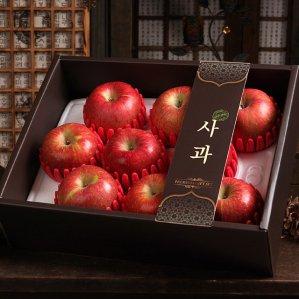 더팜 큰 사과세트3kg(9개입)