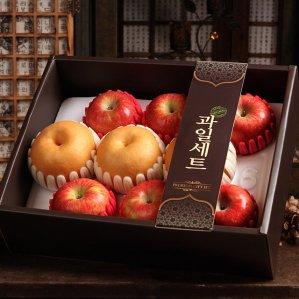 더팜 정다운 사과배세트3.4kg(사과6,배3개)